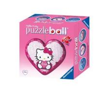 Puzzle ball - Coeur Hello Kitty  - 60 Pièces