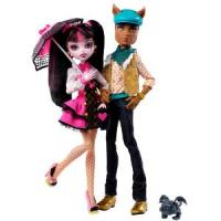 Monster High Coffret Duo - Draculaura et Clawd