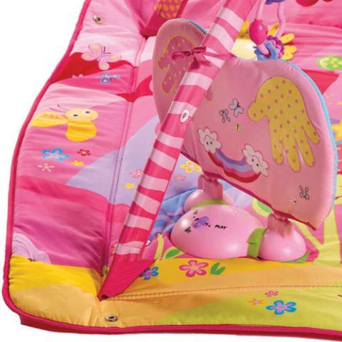 jouet 39 tapis d 39 veil princesse rose 39 sur. Black Bedroom Furniture Sets. Home Design Ideas