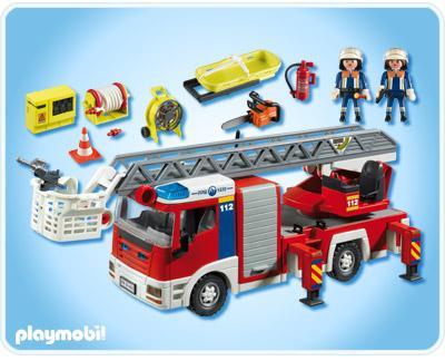 jouet 39 camion de pompiers grande chelle 39 sur. Black Bedroom Furniture Sets. Home Design Ideas