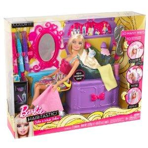 Jouet 39 barbie salon color 39 fantastique 39 sur for Salon de coiffure barbie