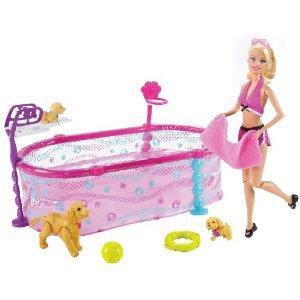 Jouet Barbie Et Les Chiots Nageurs Sur Koikomjouet Com