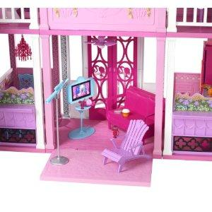 jouet 39 barbie ma maison de r ve 39 sur. Black Bedroom Furniture Sets. Home Design Ideas