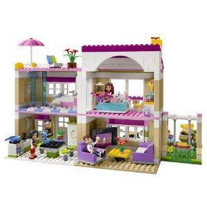 jouet 39 lego friends la villa d 39 olivia 39 sur. Black Bedroom Furniture Sets. Home Design Ideas