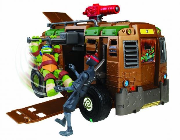 Jouet 39 camion de combats tortues ninja 39 sur - Vehicule tortue ninja ...